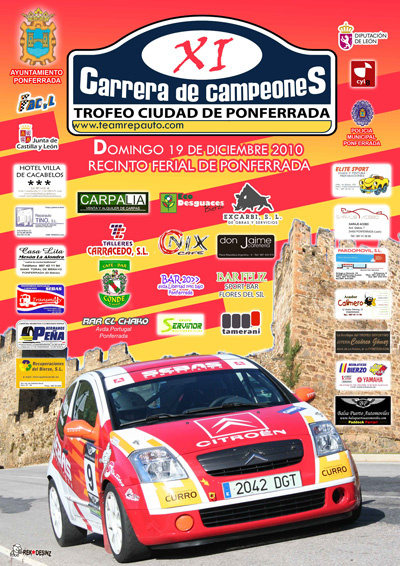 XI Carrera de Campeones Ciudad de Ponferrada Cartel